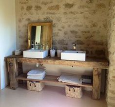 Dieser Wahnsinn dieser Werkbank This madness of this workbench Zen Bathroom Decor, Bathroom Spa, Bathroom Curtains, Bathroom Ideas, Craftsman Bathroom, Asian Decor, Interior Design, House Styles, Home Decor