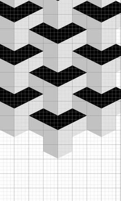 Create a Seamless, Geometric Pattern in Photoshop - Tuts+ Design & Illustration Tutorial Graph Paper Drawings, Graph Paper Art, Tile Patterns, Pattern Art, Optical Illusion Quilts, 3d Wall Painting, Frida Art, Geometry Art, Illustrator Tutorials