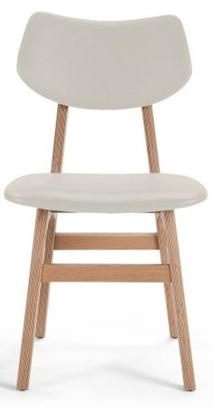 The Jacob Dining Chair in Alabaster and Ash. Inspired by mid century Scandinavian design.