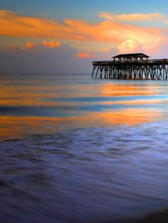 "Myrtle Beach, South Carolina.. Lived here for 5 years. This is where ""my peace"" is."
