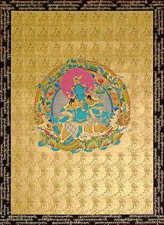 Green Tara, Goddess of Enlightened Activity