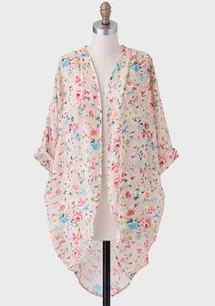 Promise Me This Floral Kimono