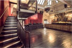 The Music Hall at The Deaf Institute, Manchester - If you need help managing attendees, use our event ticketing software at www.bookitbee.com to make your life easier. #eventplanning #ticketing #bookingsonline #createevent
