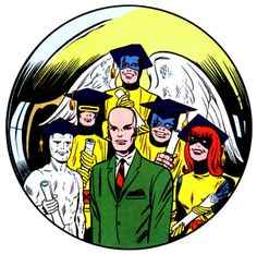 The First Graduating Class of Prof. Xavier's School for Gifted Students — X-Men #7 (September 1964) — Art by Jack Kirby & Chic Stone
