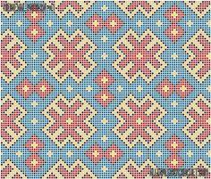 Medieval tapestry crochet pattern - free from AllTapestryCrochet.com