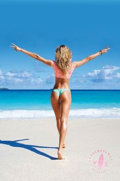 Peace out, St. Barth's! #AngelGetaways / Victoria's Secret Swim 2014. I love the Itsy bikini bottom! I want it!!