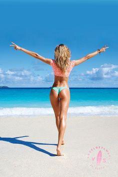 Peace out, St. Barth's! #AngelGetaways / Victoria's Secret Swim 2014