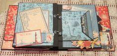 Teri Rice ~ Mini Album Graphic 45 by the Sea