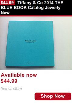 Clothing And Fashion: Tiffany And Co 2014 The Blue Book Catalog Jewerly New BUY IT NOW ONLY: $44.99