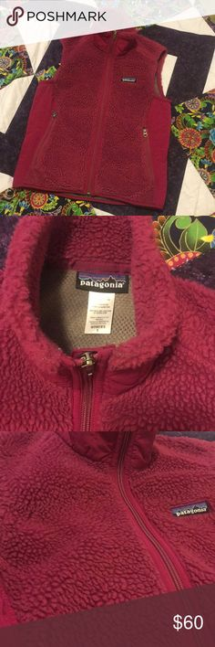"""FIRM Patagonia Retro Fleece Vest In good condition, has some wear but no stains/rips or other flaws. Pit to pit 16.5"""", length is 22.5"""". I'm moving Saturday and need this to go before then. Patagonia Jackets & Coats Vests"""