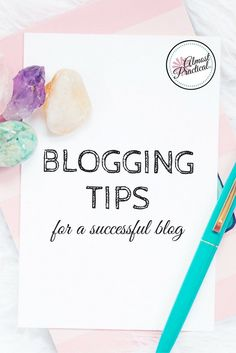 "These blogging tips will help you create a blog that you can use to build a side hustle or even a full-time income. Learn the ""how"", not just the ""why""."