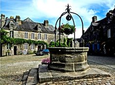 Locronan, a small city in France. It is located at Finistère Department away 3 miles west from Quimper.