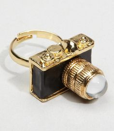 #Fredflare                #ring                     #Shot #Camera #Ring       Hot Shot Camera Ring                                http://www.seapai.com/product.aspx?PID=593449