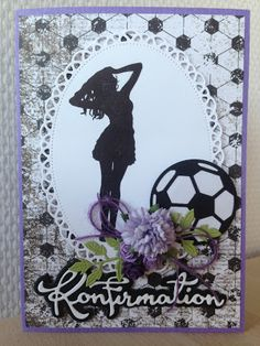 Inspiration til kort Confirmation Cards, Scrapbook Pages, Scrapbooking, Tim Holtz, Kids Rugs, Teenagers, Frame, Handmade, Inspiration