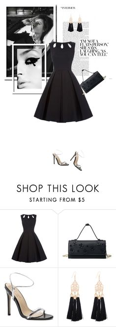 """Luli wears black"" by stellina-from-the-italian-glam ❤ liked on Polyvore featuring LBD"