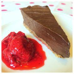 delikat chokladtryffeltårta, raw food tårta (raw, vegan)