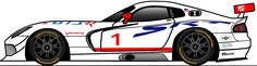 Dodge Viper GTS-R 24h 2017 ssr24.info Team Race Track Altach