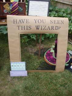 Have you seen this wizard photo prop