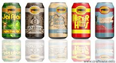 Cigar City Brewing company has beautifully-designed labels for their canned brews.