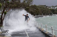 Climate report: 'Extreme risk' to people, buildings and water supplies - NZ Herald Marine Ecosystem, Living In New Zealand, Natural Ecosystem, Storm Surge, Sea Level Rise, In Plan, Pine Forest, South Island, Extreme Weather