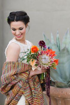 #shawl  Photography: Charla Storey Photography - www.charlastorey.com  Read More: http://www.stylemepretty.com/2014/05/05/spanish-style-wedding-inspiration/