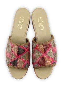 Beige Sandals, Velvet Slippers, Limited Collection, Effortless Chic, 4 Inch Heels, Low Heels, Sale Items, Snug Fit, Turkish Carpets