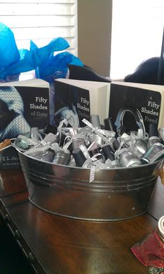 Her 50 shades of grey baby