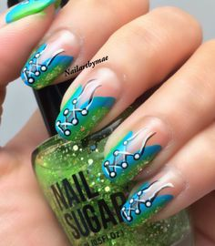 #onestroke #freehand #nailart #naildesign
