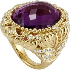 Lagos Women's 18k Baroque Amethyst & Diamond Ring and other apparel, accessories and trends. Browse and shop 21 related looks.