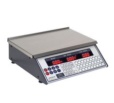 """Detecto Scale Price Computing - PC-20  Scale, Price Computing, digital display front & back, displays weight, unit price and total price, A/C power, 15 lb x .005 lb. capacity, 13-1/2"""" x 8 3/4"""" s/s platform, baked enamel housing, 38 preset prices, expandable to 99, legal for trade (Category """"A"""" item) Kitchen Measuring Tools, Professional Kitchen, Kitchen Dining, Kitchen Utensils, Home Kitchens, Kitchen Scales, Digital, Enamel"""
