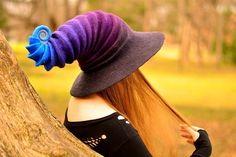 Witch Hat. Wizard Hat. Fantasy Hat. Cosplay Hat. LARP. by HandiCraftKate on Etsy https://www.etsy.com/listing/199420821/witch-hat-wizard-hat-fantasy-hat-cosplay
