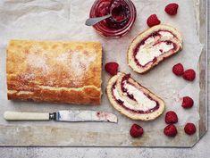Kääretorttu | Valio Macarons, French Toast, Sweets, Candy, Baking, Breakfast, Recipes, Food, Ideas