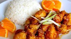 Pollo a la naranja, una receta original, que aporta un matiz agridulce al pollo. La naranja combina muy bien con carnes como la del pato, el pollo