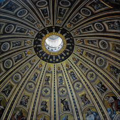 St. Peter's Dome | St. Peter's Basilica, Vatican City, Rome.… | Flickr