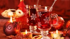 mulled wine wallpaper food