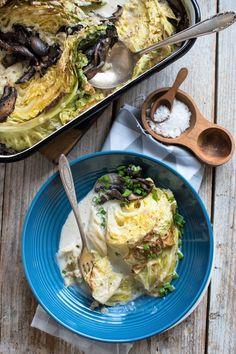 Portobello, Cheddar, Food Porn, Tacos, Chicken, Ethnic Recipes, Blog, Salad, Cooking