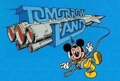 1982. Tomorrowland. Disney