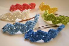 Cute crochet bracelet