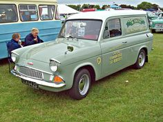 Ford Anglia 307E Van (1966) (Loved my old Anglia van :-) ........Love the Anglia .... such a brilliant original shape! The van is so rare now. Nice wider rims! #FordAngliaVan