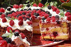 Retete de Sarbatori: Tort cu fructe de padure | Retetele Tale - Part 2