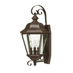 Clifton Park Large Outdoor Wall Mount