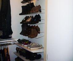 Elfa shoe rack