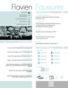 CV Flavien FAUSSURIER Atelier Inti Architecture Cartes De Visite