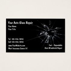 313 best auto repair business cards images on pinterest in 2018 auto glass repair business card wajeb Gallery