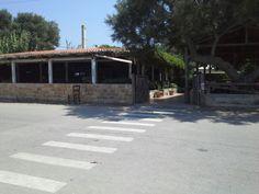 The restaurant in Mithimna