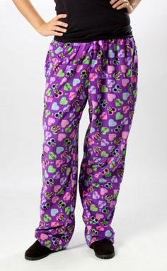 Disney Mickey Minnie Mouse Heart Fleece Pant Lounge Pajama Drawstring Plus Size $15.99