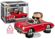 Agent Coulson With Lola & Holiday Groot Pop Vinyls Coming Soon