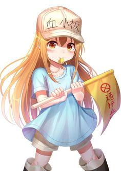 Kawaii😍 ئەنیمێی cells at work-خانەکان لەکاتی کارکردن Anime Chibi, Chica Anime Manga, Manga Girl, Anime Art, Loli Kawaii, Anime Kawaii, Kawaii Girl, Fantasy Anime, Animes Wallpapers