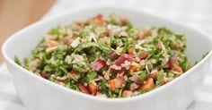 Recette de Salade de quinoa aux légumes. Facile et rapide à réaliser, goûteuse et diététique. Ingrédients, préparation et recettes associées.