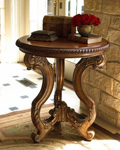 """OH yes! Really love this accent table! <3 """"Margaux"""" Accent Table by Ambella at Horchow."""